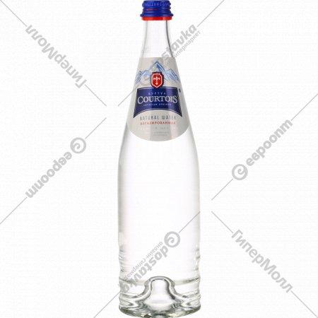 Вода питьевая артезианская «Courtois» негазированная, 0.75 л.