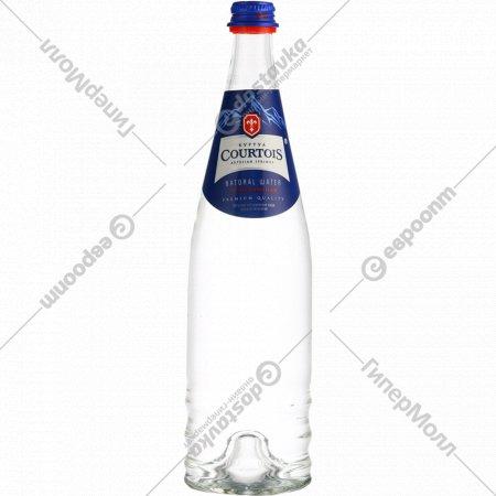 Вода питьевая «Courtois» газированная, 0.75 л.