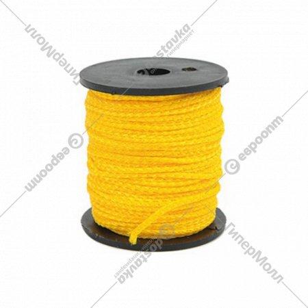 Шнур-причалка «Vorel» 50 м, желтый.