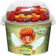 Йогурт для детей «Ванильный пломбир» с драже в белом шоколаде 2.5%, 110 г.