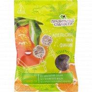 Конфеты фруктовые «Правильные сладости» апельсин, чиа и финик, 50 г