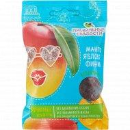 Конфеты фруктовые «Правильные сладости» манго, яблоко и финик, 50 г