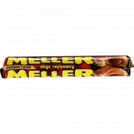 Ирис «Meller» с шоколадом и вкусом тирамису, 38 г.