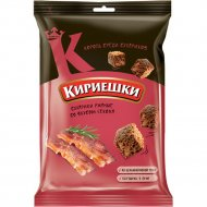Сухарики ржаные «Кириешки» со вкусом бекона, 100 г.
