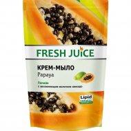 Крем - мыло с увлажняющим молочком авокадо «Fresh Juice», 460 мл.