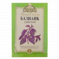 Зелень пряная сушеная «Вкусмастер» базилик, 5 г.