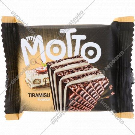 Вафли с кремом «My Motto» со вкусом тирамису, 34 г.