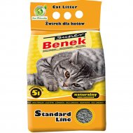Наполнитель для туалета «Super Benek» натуральный, 5 л.
