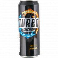 Напиток энергетический «Turbo Energy» 0.45л.
