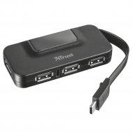 USB-хаб «Trust» Oila USB-C to 4 Port Standard USB 2.0 Hub Type-A 21320.