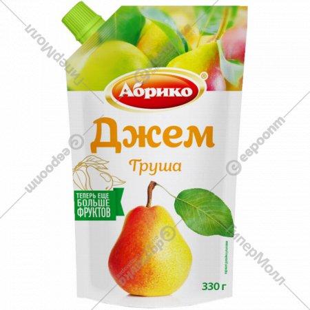 Джем грушевый «Абрико» с дозатором, 330 г.