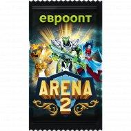 Карточка коллекционная «Arena»