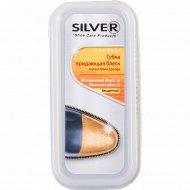 Губка для обуви «SILVER» широкая, бесцветная.