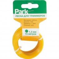 Леска для триммеров «Park» 1.3 мм, 15 м, круг.