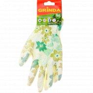 Перчатки садовые «Grinda» размер M.