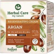 Крем для лица «Herbal Care» аргановое масло, восстанавливающий, 50 мл