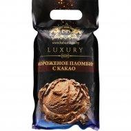 Мороженое «Luxury» с какао, 15%, 500 г.
