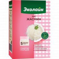 Крупа рисовая «Эколайн» жасмин 500 г.