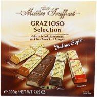 Шоколад «Maitre Truffout» ассорти мини-батончиков, 200 г.