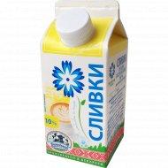 Сливки «Витебское молоко» пастеризованные, 10%, 330 г