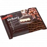 Пирожное «Беллакт» с вафлей шоколадной, начинка «фундук» 21%, 100 г.