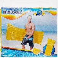 Матрас надувной «Bestway» Делюкс, 44013 BW, желтый, 183х76 см