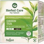 Крем для лица «Herbal Care» зеленый чай, нормализующий, 50 мл