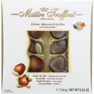 Шоколадные конфеты «Дары моря» с начинкой пралине, 250 г.