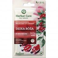 Омолаживающая маска для лица «Herbal Care» шиповник 2х5 мл.