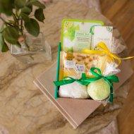 Подарочный набор «Зеленый чай» средний