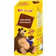 Коктейль молочный «Маша и Медведь» шоколадный, 2.3%, 200 г.