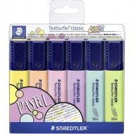 Набор маркеров «Staedtler» Классик, 364-C-WP6, 6 цветов