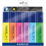 Набор маркеров «Staedtler» Классик, 364-Р-WP6, 6 цветов