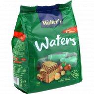 Вафли «Walter's» со вкусом лесного ореха, 250 г.