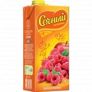 Напиток сокосодержащий «Сочный» яблоко-малина, 0.95 л.