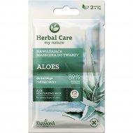 Увлажняющая маска для всех типов кожи «Herbal Care» Алоэ 2х5 мл.
