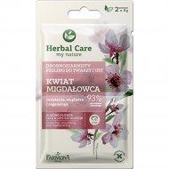 Скраб для лица и губ «Herbal Care» Цветок миндаля 2х5 мл.