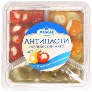 Антипасти «Meggle» итальянский микс, овощи консервированные, 400 г.