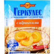 Каша овсяная «Скороешка» моментальная с абрикосами, 35 г.