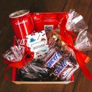 Подарочный набор для мужчин «Кока-кола» средний