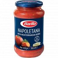 Приправа овощная «Barilla» со специями «Napoletana», 400 г.