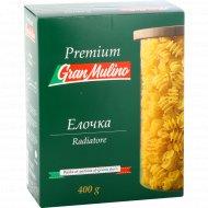 Макаронные изделия «Granmulino» premium лапша елочки , 400 г.