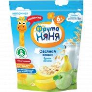 Каша овсяная молочная «ФрутоНяня» с бананом и яблоком 200 г.