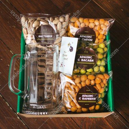 Подарочный набор для мужчин «Орешки» большой