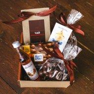 Подарочный набор для мужчин «Шоколадный» средний