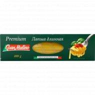 Макаронные изделия «Granmulino» premium лапша длинная, 400 г.