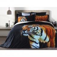 Комплект постельного белья «Блакiт» Тигр, двуспальный, D26/712, 4430