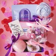 Подарочный набор «Розово-лавандовый» средний