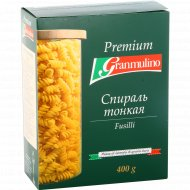 Макаронные изделия «Granmulino» Premium, Fusilli, 400 г.