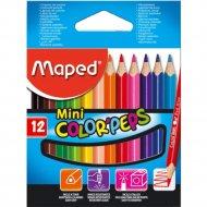 Карандаши «Color Peps» мини, 12 шт.